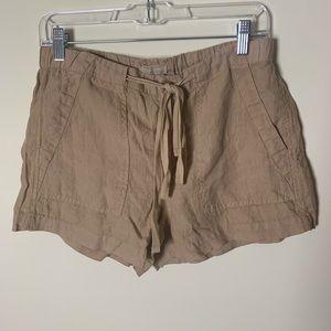 NWT Lou & Grey 100% Linen Shorts Small